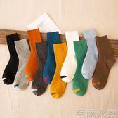 襪子男中筒襪純棉夏季薄款男士長襪秋季日系吸汗防臭運動歐美街頭 至簡元素