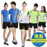 男女款套裝兵乓球衣服褲裙網球服排球運動服