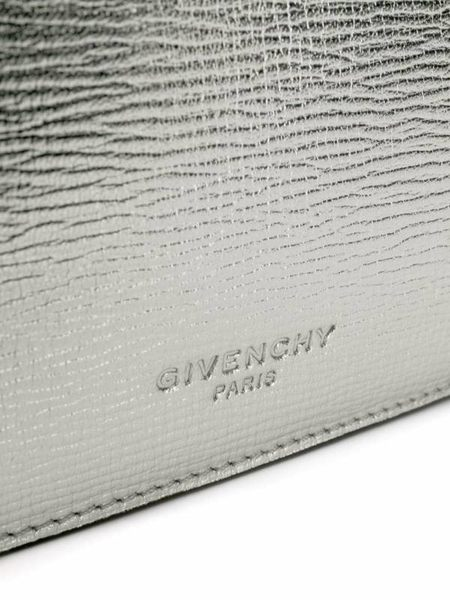 ■專櫃52折 ■2019新品■Givenchy Cross 3 手提斜背層三層風琴多用包 銀色