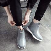 韓版成人雨鞋男女短筒時尚雨靴男膠鞋低幫防滑水靴套鞋防水鞋【七七特惠全館七八折】