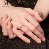 食指戒指女金色日韓大氣潮人復古學生情侶歐美開口情人節指環 雙12鉅惠交換禮物