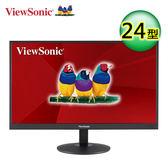 【ViewSonic 優派】24型VA寬螢幕(VA2403-H) 【買再送折疊收納購物袋】