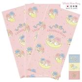 【 日本製 】日本限定 三麗鷗 KIKI LALA 雙子星 星空版 紅包袋 / 信封袋 3枚入ㄧ組