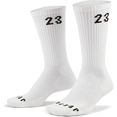 NIKE JORDAN ESSENTIALS 運動襪 長襪 六入組 緩震 導濕 速乾 白【運動世界】DH4287-100