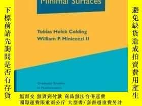 二手書博民逛書店A罕見Course In Minimal Surfaces-最小曲面課程Y436638 Tobias Holc