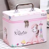 可愛手提化妝包收納包便攜旅行大容量化妝箱化妝品包洗漱包