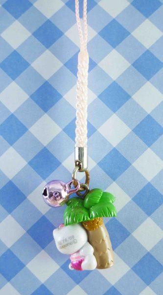 【震撼精品百貨】Hello Kitty 凱蒂貓~限定版手機吊飾-椰子樹