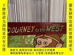 二手書博民逛書店英文西遊記Journey罕見to the west點讀版Y379