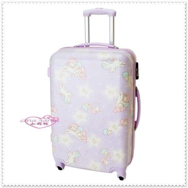 ♥小花花日本精品♥Hello Kitty 雙子星獨角獸行李箱旅行箱/登機箱
