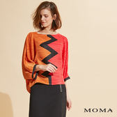 MOMA 熱壓褶印花上衣