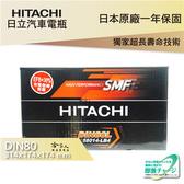 HITACHI 日立 DIN80 BENZ C280 C300 專用電池 免運 日本技術 58014 電瓶 哈家人