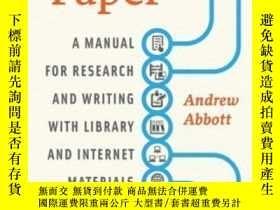 二手書博民逛書店Digital罕見PaperY307751 Andrew Abbott University Of Chica