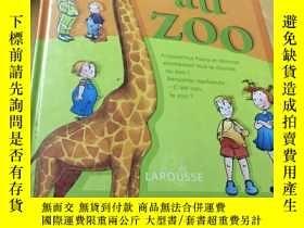 二手書博民逛書店DES罕見MOTS POUR LIRE au zoo(是什麼語種