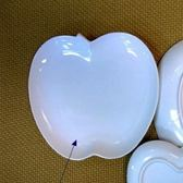日本陶瓷【小田陶器】中 蘋果盤 日本製餐盤 白瓷盤 水果盤 器皿 陶瓷 餐具 盤子 碟子