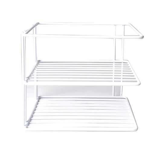 【九元生活百貨】QA012四方角落盤架 碗盤架