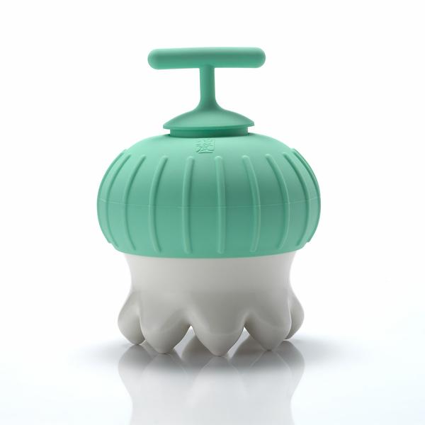 《乾唐軒活瓷》熱波按摩器(尖足/白/綠夾T)