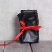 雙12購物節   手工真皮錢包頭層牛皮錢夾簡潔大方原創設計男女情侶款   mandyc衣間