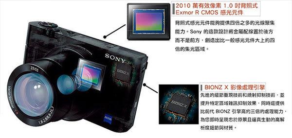 SONY DSC-RX100 III RX100M3  公司貨  再送64G高速卡+ACC-TRDCX原電充電組超值組  分期零利率