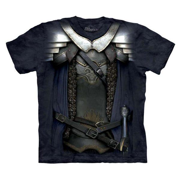 【摩達客】(預購) 美國進口The Mountain 變身劍客純棉環保短袖T恤(10416045110a)