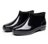 韓版雨鞋男短筒時尚雨靴男士春季新款防滑水鞋低筒套鞋防水鞋男