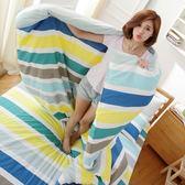 [SN]#U085#細磨毛天絲絨5x6.2尺標準雙人舖棉兩用被床包四件組-台灣製(限單件超取)