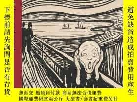 二手書博民逛書店Edvard罕見Munch: love and angstY36