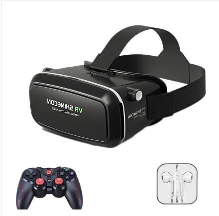 VR魔鏡性用品虛擬暴風5代頭戴box頭盔3D眼鏡手機虛擬現實vr眼鏡ar 浪漫西街