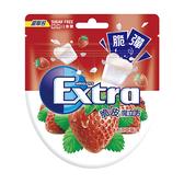Extra 益齒達脆皮魔立方草莓口香糖【愛買】