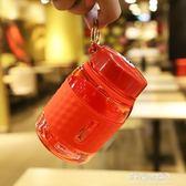 迷你大肚小清新塑料杯便攜學生戶外運動水壺男女泡茶隨行杯子 多莉絲旗艦店