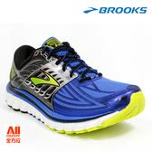 【BROOKS】男款避震型慢跑鞋  Glycerin 14 -海藍黃(361D464) 全方位跑步概念館