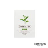 SKINFOOD綠茶抗氧面膜 18 ml