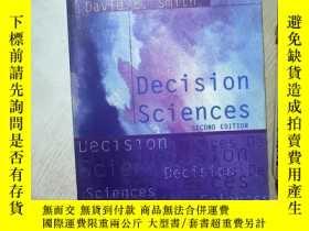 二手書博民逛書店DECISION罕見SCIENCES SECOND EDITION 決策科學第二版 大16開 02Y26111