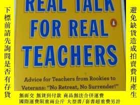 二手書博民逛書店REAL罕見TALK FOR REAL TEACHERSY319416 REAL TALK FOR REAL