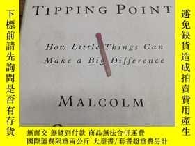 二手書博民逛書店the罕見tipping pointY271632 malcol