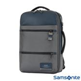 Samsonite新秀麗 Vestor商務三用保護隔層筆電後背包(藍)