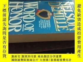 二手書博民逛書店WORD罕見OF HONOR(諾言,36開英文原版)Y10118