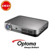 (送高級84吋手拉布幕) 奧圖碼 ML330 高清微型智慧投影機 WXGA 500流明 銀灰色 公貨
