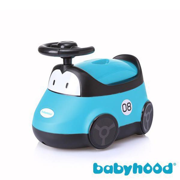 Babyhood 小汽車座便器 藍