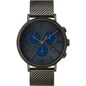 TIMEX 天美時 米蘭帶 三眼計時手錶 (TXTW2R98000) /41mm