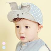 韓系俏皮點點兔耳帽 童帽 帽子 棒球帽 遮陽帽 防曬帽