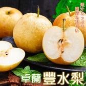 【果之蔬-全省免運】卓蘭豐水梨X8顆(450克±10%/顆)