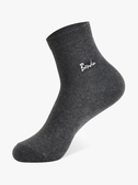 男中筒襪 襪子男士襪秋冬款純棉吸汗防臭長襪冬季加厚加絨黑色全棉 莎瓦迪卡