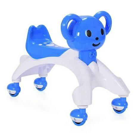 兒童學步搖擺溜溜車扭扭車萬向靜音四輪帶音樂玩具igo  琉璃美衣