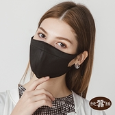 【岱妮蠶絲】時尚立體透氣蠶絲口罩(黑)