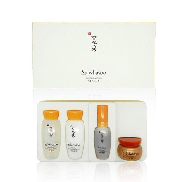 韓國 Sulwhasoo 雪花秀 基礎保養四件組(化妝水+乳液+修護霜+潤燥精華) ◆86小舖 ◆