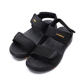 GOODYEAR 風雲 超輕量運動涼鞋 黑 GAMS13730 男鞋