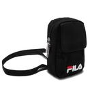 FILA 黑色 小方包 腰掛包 手機 零錢包 斜背包 外出包 輕便包 小腰包 BST-9011-BK