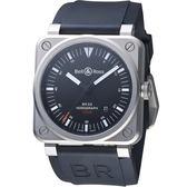 Bell & Ross 飛鷹戰士自動機械腕錶 BR0392-HOR-BLC/SRB