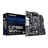GIGABYTE 技嘉 Intel C246M-WU4 Micro ATX 伺服器主機板