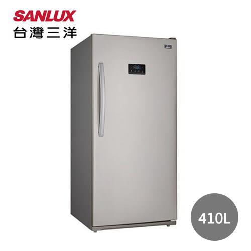 【台灣三洋】 410公升單門直立式冷凍櫃(自動除霜) SCR-410A(含基本安裝+舊機回收)